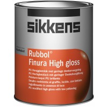 Sikkens Rubbol Finura High gloss 1 ltr